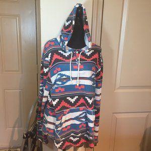 Quicksilver unisex hoodie size L